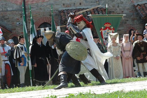 Duello tra cavalieri