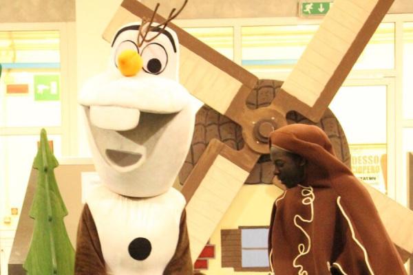 Olaf e l'Omino di pan di zenzero