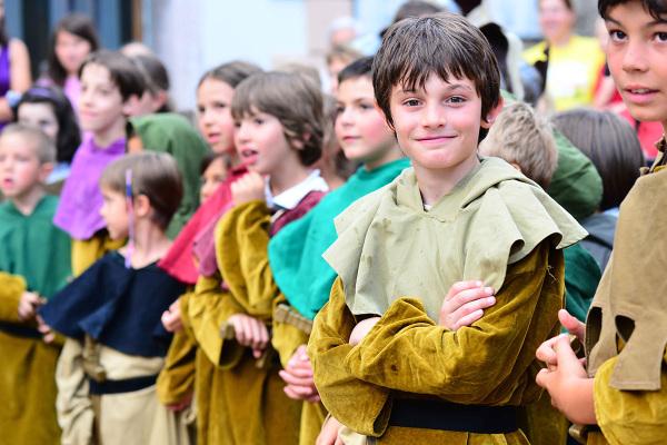 Giovani ribelli della foresta di Sherwood